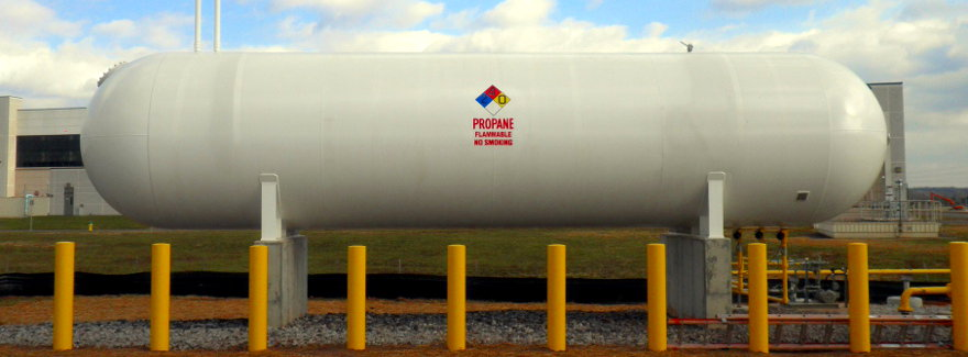Propane Storage Tanks Standby Systems
